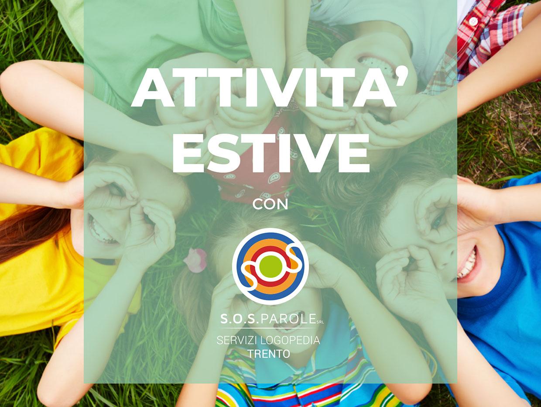Attività Estate Logopedia Trento